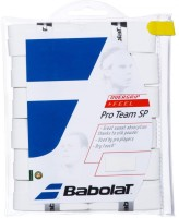 Babolat Pro Team SP Tacky Touch  Grip (White, Pack Of 12)
