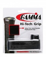 Gamma Hi-Tech OverGrip Tacky Touch  Grip (Black, Pack Of 1)