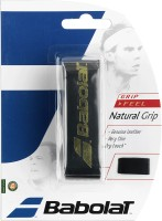 Babolat Natural Grip Dry Feel Grip (Black, Pack Of 1)