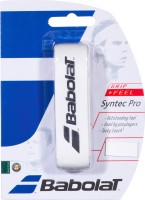 Babolat Syntec Pro Dry Feel Grip (White, Pack Of 1)