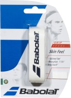 Babolat Skin Feel Grip Tacky Touch Grip (White, Pack Of 1)