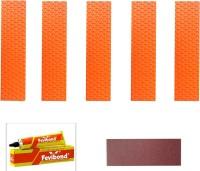 Marigold Elite Cricket Bat Toe Guard (Orange)