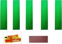 Marigold Elite Cricket Bat Toe Guard (Green)