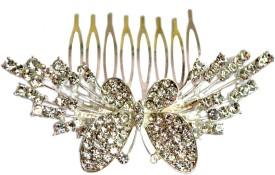Artifice Metal Stone Comb Hair Accessory Set