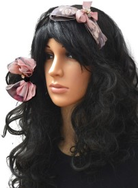 Shopaholic Fashion Partywear Bow Hair Band And Rubber Band Combo Hair Accessory Set