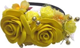 Apeksha Arts Floral With Flowers Hair Band
