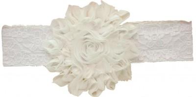 PinkXenia Hair Accessories PinkXenia Shabby Flowers Rosset Chiffon Babygirl Newborn Soft Head Band