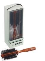 Kent Hair Brushes Kent Half Radial Pure Bristle Danta Wood Dressing & Styling Dressing Premium Brush