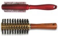 Vega Premium Round Brush E11_RB & Styling Round Brush H2-BRN (Pack Of 2)