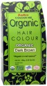Colour Me Organic Powder Hair Color - Dark Brown