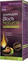Garnier Black Naturals Kit Shade 3.16 Hair Color (Natural Burgundy)