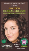 Impression 100% Chemical Free Natural Hair Color (Soft Brown)
