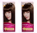 Revlon Color N Care Permanent Hair Color Cream - Darkest Brown 3N - Pack Of 2 Hair Color - Darkest Brown
