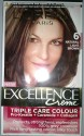 Loreal Paris Excellence Creme Hair Color - Natural Light Brown - 6