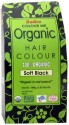 Colour Me Organic Powder Hair Color - Soft Black