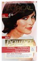 Loreal Paris Excellence Cream Hair Color - Deep Plum - 4.16
