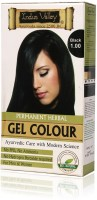 Indus Valley Permanent Herbal Black 1.0 One Time Use Hair Color (Black 1.0)