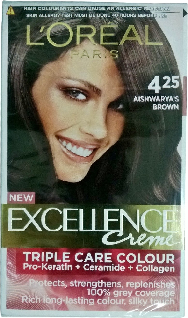 Loreal Paris Excellence Cream Hair Color  Price In India Buy Loreal Paris E
