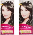 Revlon Color N Care Permanent Hair Color Cream - Natural Black 1N - Pack Of 2 Hair Color - Natural Black