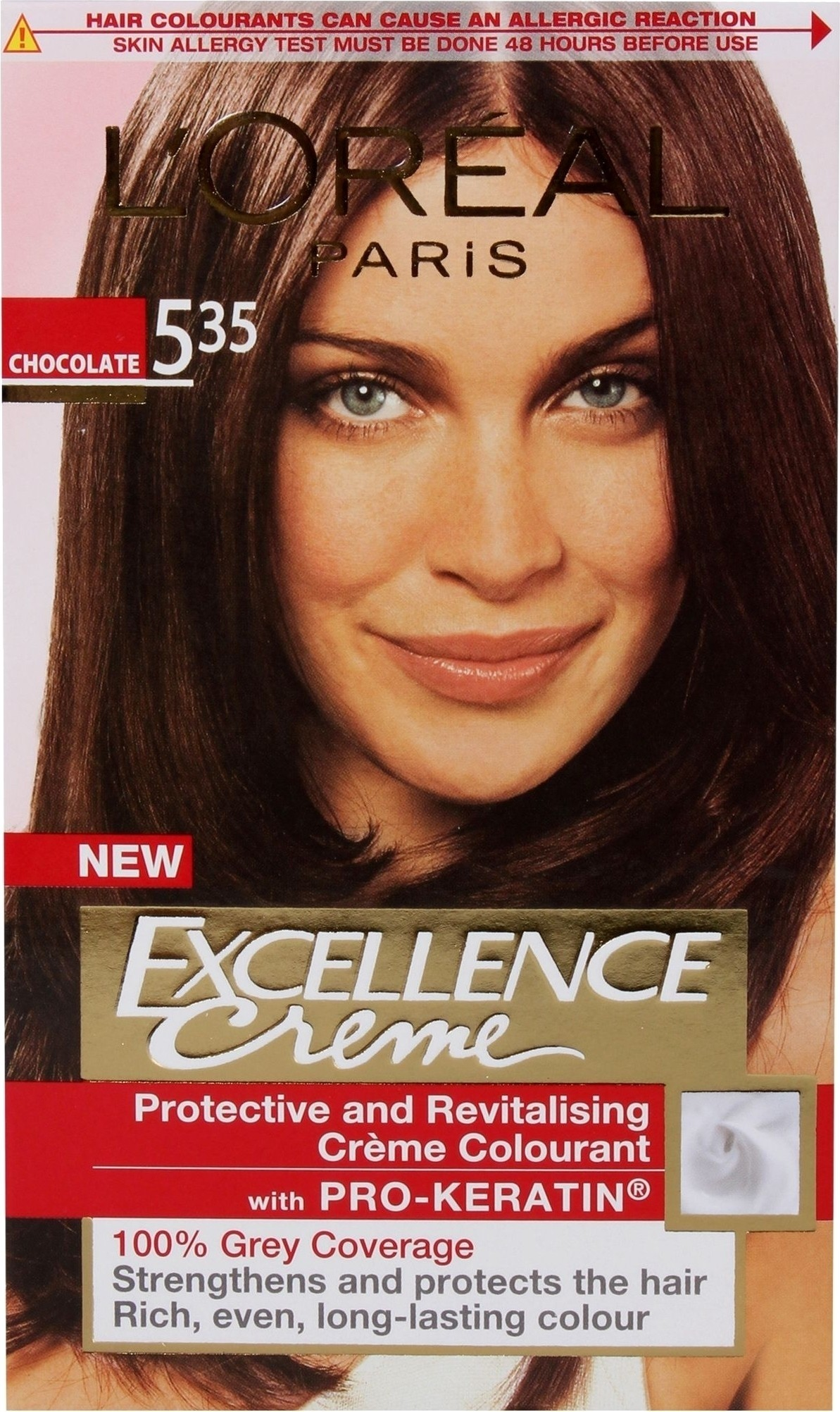 Buy Loreal Paris Excellence Creme Hair Color Chocolate 535