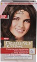 Loreal Paris Excellence Cream Hair Color - Natural Darkest Brown - 3