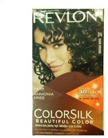 Revlon Colorsilk With 3D Color Technology 3N Hair Color (Dark Brown)