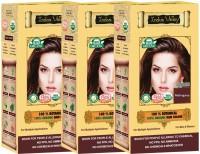 Indus Valley 100% Organic Botanical Mahogany-Triple Pack Hair Color (Mahogany)