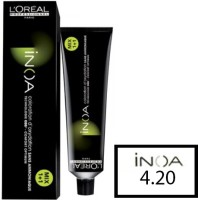 Loreal Inoa  Hair Color (4.20 Extra Burgundy Brown)