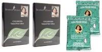 Shahnaz Husain Colourveda & Forever Henna Precious Herb Hair Color (blackish Brown)