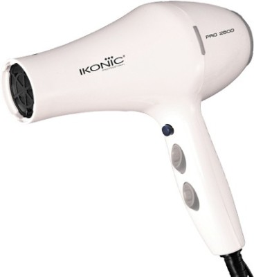 IKONIC Pro 2500 Professional Hair Dryer SP1644W Hair Dryer (White)