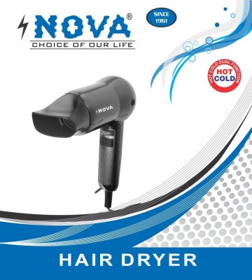 Nova NHD2 Hair Dryer (black,red)