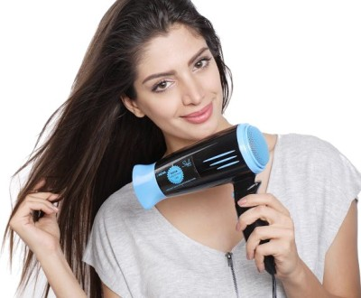Nova Professional 1800 Watts NHP 8200 Hair Dryer (Black, Blue)