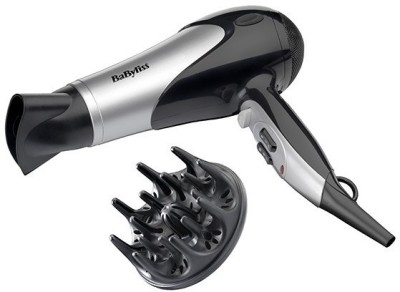 Babyliss 5548U Hair Dryer (Black, Grey)