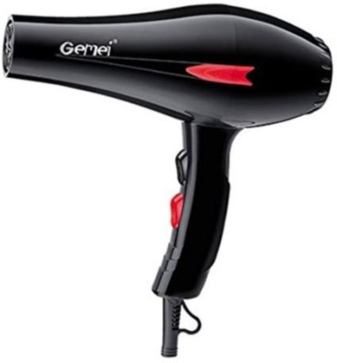 Gemei 1706 Hair Dryer (Black)
