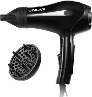 Nova Foldable Professional NHP 8201 Hair Dryer (Black)