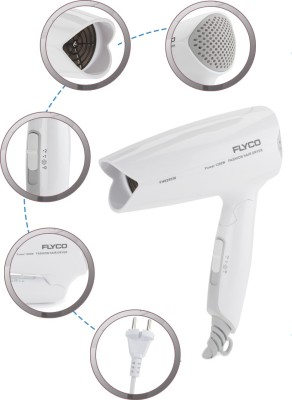 Flyco FH6255IN Hair Dryer (White)