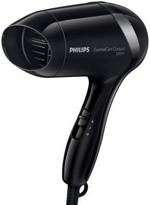 Philips Compact Essential Care 1200 Watts BHD 001 Hair Dryer (Black)