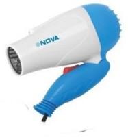 Nova Nv1290 Hair Dryer (Blue, White, Pink)