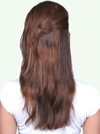 Krome Mocha Brown Single Clip in Remy Human hair, 14