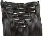 Krome Hair Extensions Krome Clip in Remy Human 50.8 cm Hair Extension