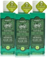 Khadi Herbal Mind-Fresh Oil [ Pack OfTHREE ] Hair Oil (300 Ml)