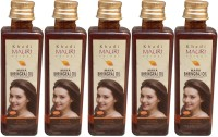 Khadi Mauri Maha Bhringraj Pack Of 5 Herbal Ayurvedic 100 Ml Each Hair Oil (500 Ml)