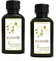 Richfeel Dandruff Oil 100ml (Pack Of 2) Hair Oil (200 Ml)