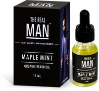 The RealMan Organic Beard Oil Maple Mint Hair Oil (15 Ml)