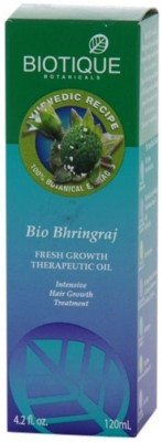 Buy Biotique Bio Bhringraj Fresh Growth Therapeutic Hair Oil: Hair Oil