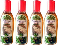Nutriwell Herbal - Amla - Brahmi - Bhringraja  Hair Oil (400 Ml)