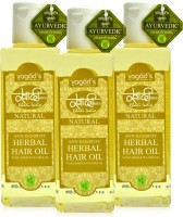 Khadi Herbal Anti-Dandruff Oil [pack Of THREE] Hair Oil (600 Ml)