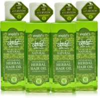 Khadi Herbal Anti-Hairfall Oil [pack Of FOUR] Hair Oil (600 Ml)