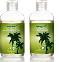 Healthbuddy Herbal Virgin Coconut Pack Of 2 Hair Oil (400 Ml)