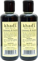 KHADI HERBALS Rosemary & Heena [ PACK OF 2] Hair Oil (420 Ml)